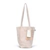 linen mini ecobag - beige