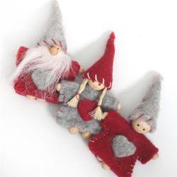 산타소녀양모장식[1265]
