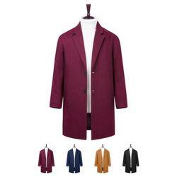 [모니즈] 빗살 누빔 코트 CTM356