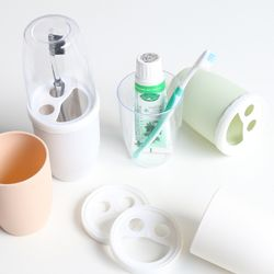휴대용 칫솔케이스 양치컵 겸용