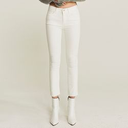 EASY WARM NAPPING SLIM PANTS (IVORY)