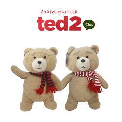 19곰 테드-목도리테드-영화 테드2 욕정곰인형 33cm