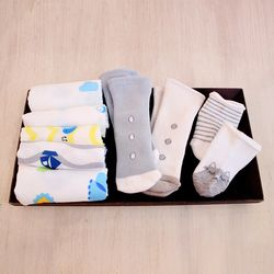 [썸네일 텍스트 삭제 요청] 하라로이 신생아 선물세트(남아용)