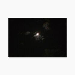 달 엽서 MOON POSTCARD