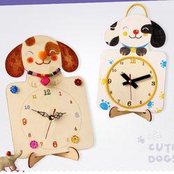 강아지시계만들기[diy시계만들기]