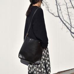 Simple big shoulder bag2