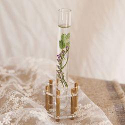 Flower DNA vase (1구 육각)