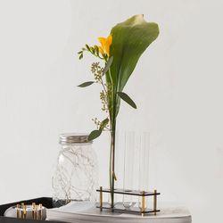 Flower DNA vase (3구 사각)