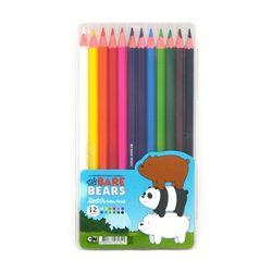 위베어베어스 12색 스케치 색연필세트