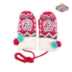 디즈니 소피아 방울방울 니트 벙어리장갑 EGSFG30014