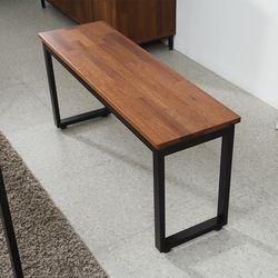 로니 로모 멀바우 1400 벤치의자 WF008