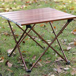 미니멀 브라운 롤 경량 테이블 CH1319258