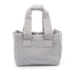 Padded Shoulder Bag Gray S