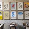 마티스 드로잉 전시회 포스터 15종 모음 (미니)