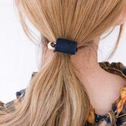 실린더 볼메탈 벨벳 머리끈