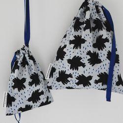 storage bag crow by Jennifer Bouron (medium)