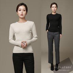 Slim fit knit