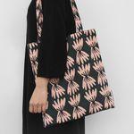 farfalle bookstore bag by Jennifer Bouron