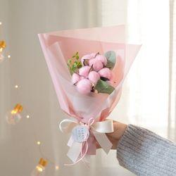 솜사탕 프리저브드 목화꽃다발 [4color]
