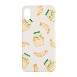 이태리숍 아이폰X 하드케이스 - 바나나우유