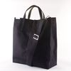 BAG TAKE 04-2 BLACK HEAVY CANVAS BAG