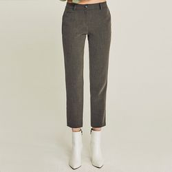 REGULAR NAPPING SPAN SLACKS (GRAY)