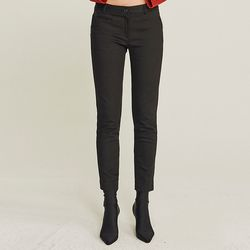 SKINNY NAPPING SPAN PANTS (BLACK)