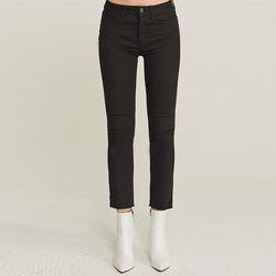 EASY WARM NAPPING SLIM PANTS (BLACK)