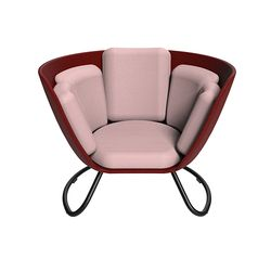 DANZI Chair Burgundy(Medium)