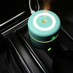 큐브컵 USB 무드등 차량용 미니 가습기