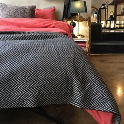 herringbon small blanket (울혼방블랑켓)