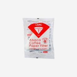 카펙 아바카 종이필터 1-2인용 (100매) - 화이트