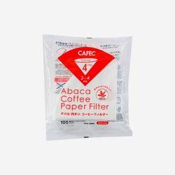 카펙 아바카 커피 페이퍼필터 2-4인용 (100매) White