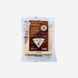 카펙 아바카 커피 페이퍼필터 2-4인용 (100매) Brown
