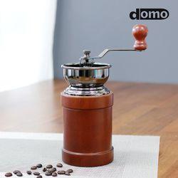 도모 홈카페 엔틱 원두커피분쇄기 (원통형)