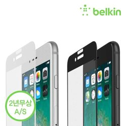 벨킨 아이폰 876s6 풀커버 강화유리필름 F8W853zz