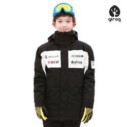 루키 스키보드 자켓 BLACK 아동용