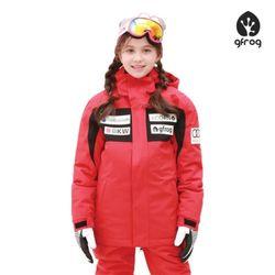 루키 스키보드 자켓 RED 아동용