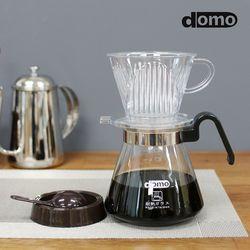 도모 홈카페 커피 드립세트 600ml