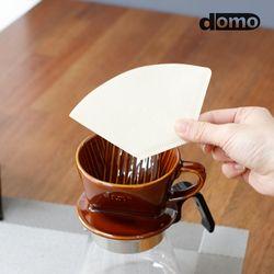 도모 프리미엄 브라운 커피여과지 1-2인용 100매