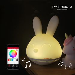 [mipow] 주코로 아기토끼 무드등(선물포장)