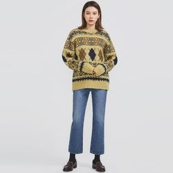 nordic point wool knit