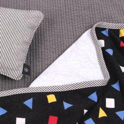 짱구 도형 담요 L