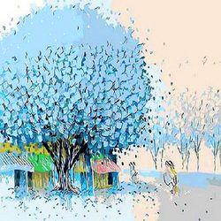 [DIY명화]Q477 행운의나무시리즈 size 40x50cm