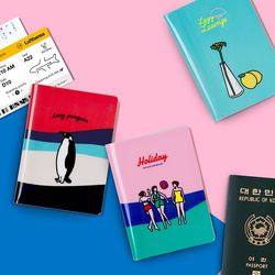 [LUCALABxCamper]Passport Wallet 여권지갑