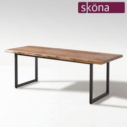 앤글스 멀바우 원목 우드슬랩 테이블 2100