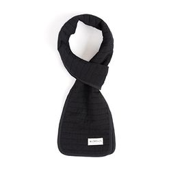 COTTON QUILTED STOLE (black)