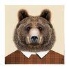 패브릭 포스터 S068 벽에거는천 동물 친구 곰 [중형]