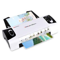 현대오피스 A4 코팅기 PL-2302plus 2롤러 코팅지100매