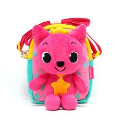 핑크퐁 입체 인형크로스 핑크